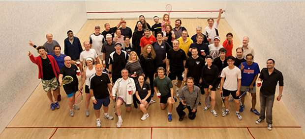 Welcome to Kingfisher Squash Club